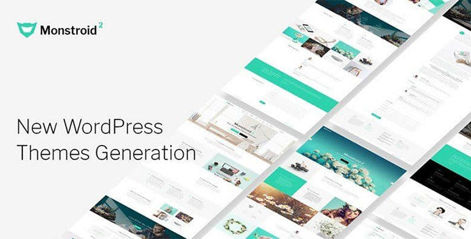 Monstroid-2 beste Wordpress theme [2021]
