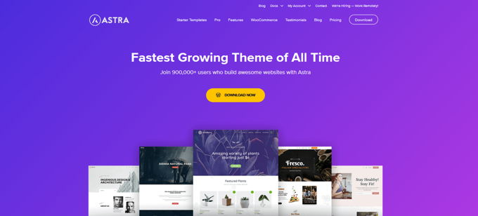 Astra PRO beste gratis Wordpress theme [2021]