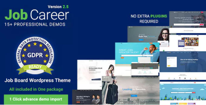 Jobcareer beste Wordpress theme