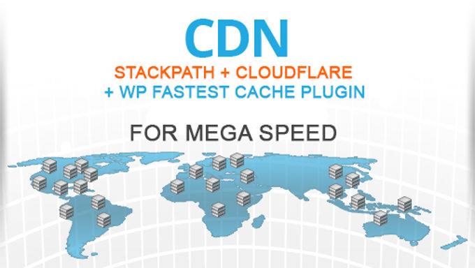 CDN perfect instellen, Stackpath + Cloudflare + WP fastest cache