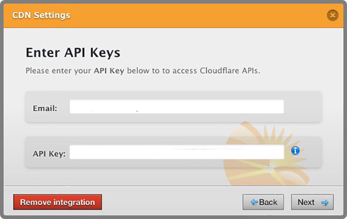 Cloudflare CDN integreren stap 1