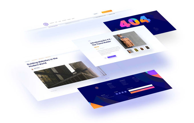 Divi Theme Builder versie 4