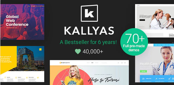 Kallyas beste Wordpress theme [2021]