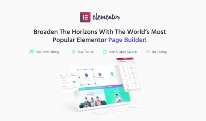 Monstroid-2 met Elementor pagebuilder