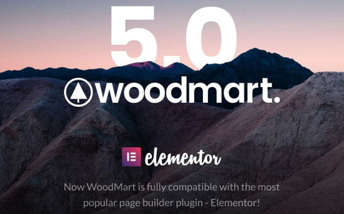 Woodmart Theme review  pagebuilders