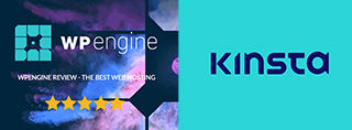 WP-Engine vs Kinsta hosting voor [2021]