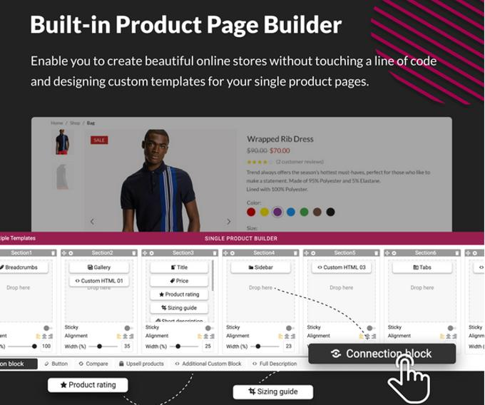 X-Store Theme review Woocommerce product pagebuilder